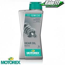 Huile de boite MOTOREX GEAR OIL 10w30 100% synthèse à + 2