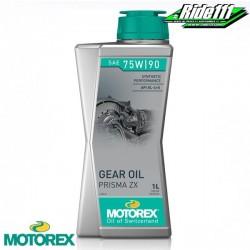 Huile de boite MOTOREX GEAR OIL PRISMA ZX 75w90 1L à + 2