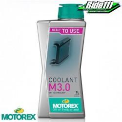 """Liquide de refroidissement """"COOLANT M 3,0"""" MOTOREX 1L à + 2"""