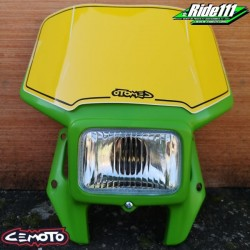 Plaque phare CEMOTO 2620 Vert Configuration:Livrée avec ampoule 12V35/35W