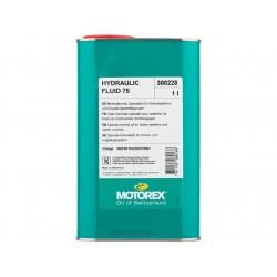 """Liquide Minéral  """"HUDRAULIC FLUID 75"""" MOTOREX 1 litre"""