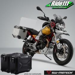 Kit valises SW-MOTECH TRAX Adventure Noires MOTO GUZZI V85 TT