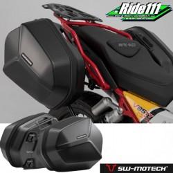 Kit valises SW-MOTECH AERO MOTO GUZZI V85 TT à + 2
