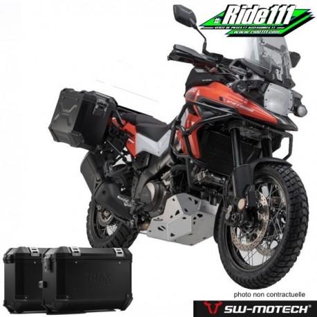Kit valises SW-MOTECH TRAX ION SUZUKI V-STROM 1050 XT à + 2