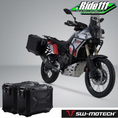 Kit valises SW-MOTECH TRAX Adventure Noires YAMAHA Ténéré 700 à + 2