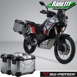 Kit valises SW-MOTECH TRAX Adventure Grises YAMAHA Ténéré 700