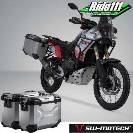 Kit valises SW-MOTECH TRAX Adventure Grises YAMAHA Ténéré 700 à + 2