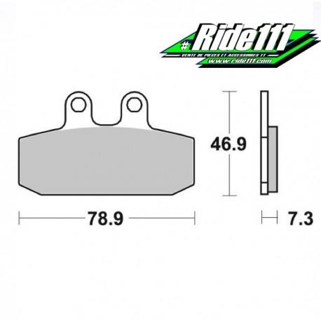 Plaquettes de frein BREMBO arrière MOTO GUZZI V85 TT à + 2