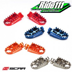 Repose pieds SCAR EVOLUTION KTM 250-530 SXF-EXCF 2000-2016