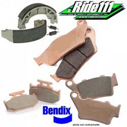 Plaquettes de frein avant ou arrière BENDIX HONDA 125-250 CR-R 1990-2008