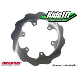 Disque de frein arrière Lisse BRAKING HONDA 125-250 CR-R 2002-2008