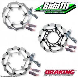 Kit disques Oversize BRAKING KTM 125 à 530 EXC-EXCF