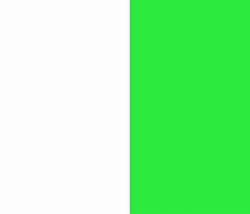 Blanc / Vert