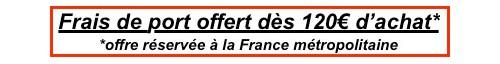 Franco de port 99€